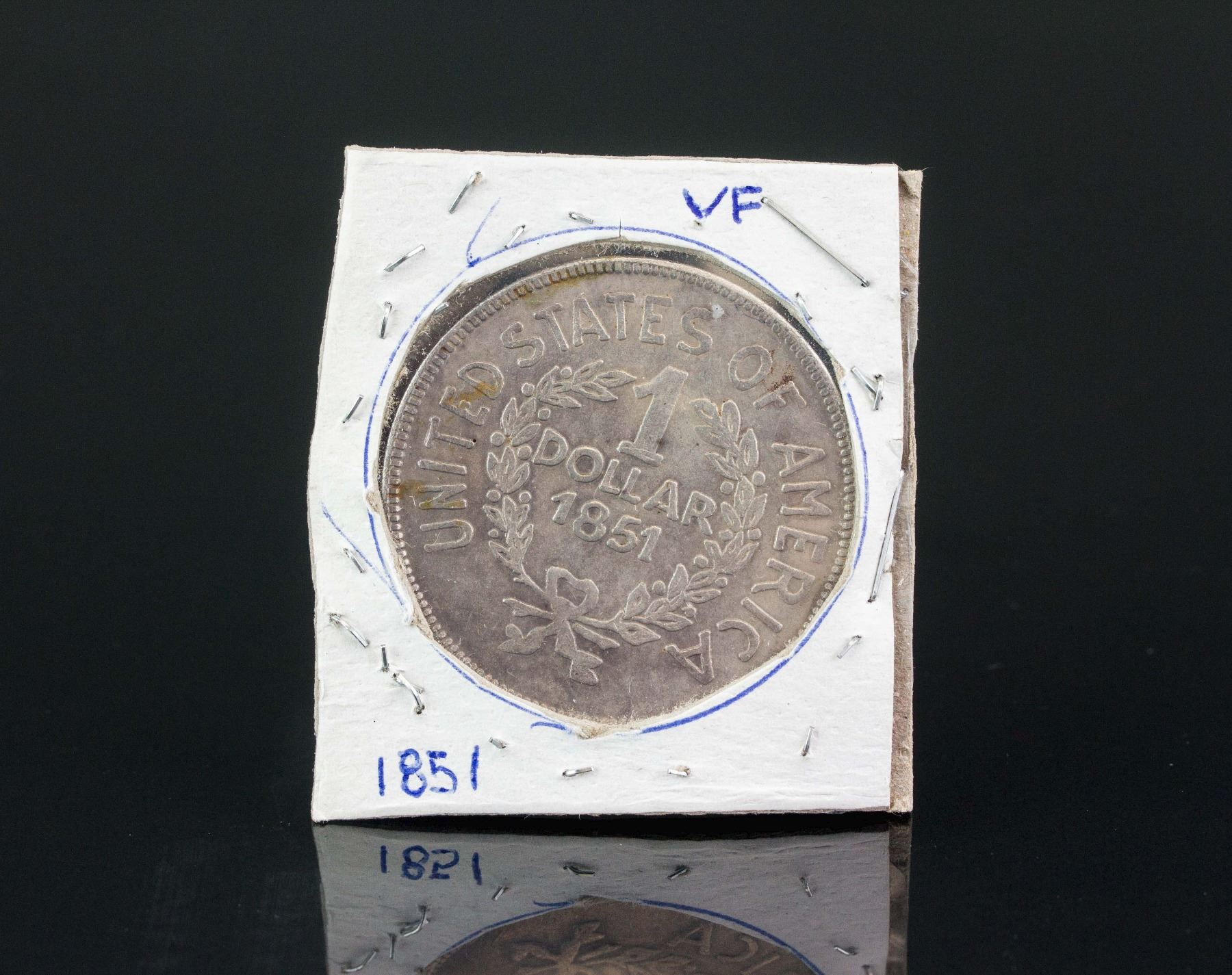 United States of America 1851 One Dollar Coin