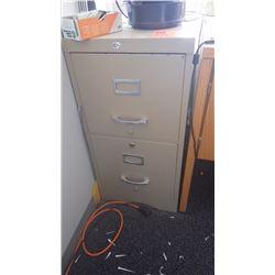 2 door legal file cabinet