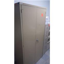 2  door metal file cabinet