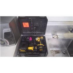 Dewalt 12 volt cordless drill and bits
