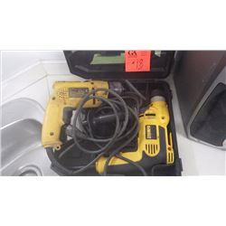 """2 Dewalt 3/8"""" electric drills"""