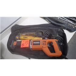 Rigid electric reciprocating saw