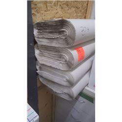4 rolls wrapping paper