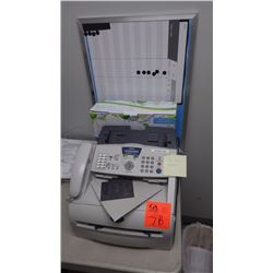 Brother 2820 Fax/ copier/ printer/ work station with extra toner cartridges and white board calendar