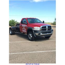 2008 DODGE 5500 PULLER  (EDINBURG) $21,000