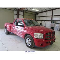 2007 DODGE RAM 3500 (TUCSON) $19,000