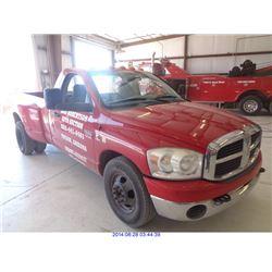 2007 DODGE RAM 3500 (TUCSON) $16,000
