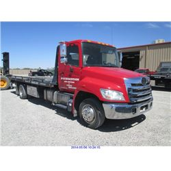 2011 - HINO 268 ROLLBACK(TUCSON) $45,000