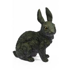 Animal edition Rabbit Bronze Sculpture