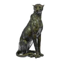 Animal edition Vanderveen Cheetah Cougar Wild Life Garden Bronze Sculpture