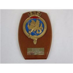 Collectibles and Memorabilia military wall plaque
