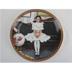 1986 Collectible Limited Edition Sitting Pretty by Norman Rockwell