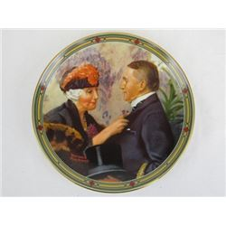 1987 Collectible Limited Edition Loves Reward by Norman Rockwell