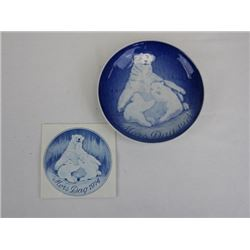1974 Collectible Porcelain Mothers Day Plate