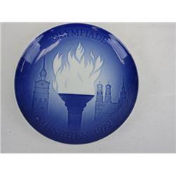 1972 Collectible Porcelain Munchen Plate