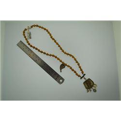 Full of love handmade wooden meditation beads Necklace