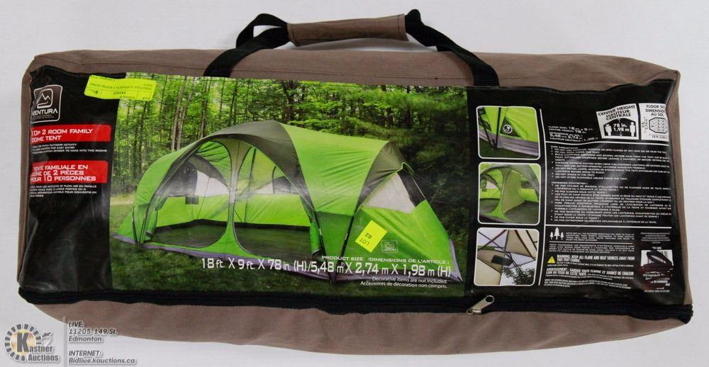 Ventura 10 Person 2 Room Dome Tent