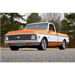 2:00 PM SATURDAY FEATURE! 1972 CHEVROLET SUPER CHEYENNE CUSTOM PICK-UP