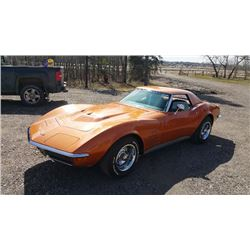 12:30 PM SATURDAY FEATURE!  1972 CHEVROLET CORVETTE CONVERTIBLE STINGRAY