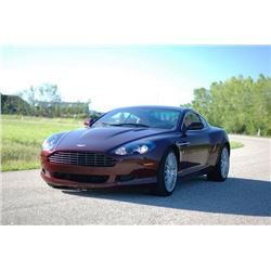 3:30 PM SATURDAY FEATURE! 2005 ASTON MARTIN DB9 COUPE