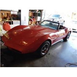 1973 CHEVROLET CORVETTE STING RAY CONVERTIBLE