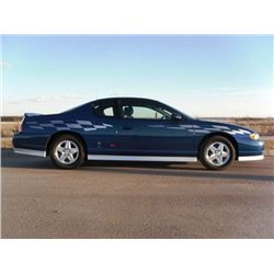2003 CHEVROLET MONTE CARLO SS PACE CAR LIMITED EDITION