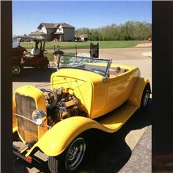1932 FORD ROADSTER HOT ROD CONVERTIBLE