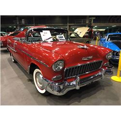 FRIDAY NIGHT! 1955 CHEVROLET BEL AIR CONVERTIBLE