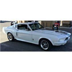 3:45 PM SATURDAY FEATURE! 1967 SHELBY GT500E ELEANOR FASTBACK STUNNING FEATURE
