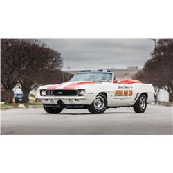 4:30 SATURDAY FEATURE! 1969 CHEVROLET CAMARO SS RS INDY 500 PACE CAR 396-375HP 4 SPEED REAL DEAL Z11