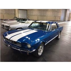 1967 FORD MUSTANG COUPE MATCHING NUMBERS
