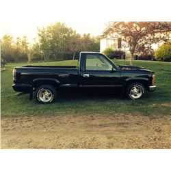 1989 CHEVROLET 1500 SHORTBOX STEPSIDE