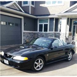 FRIDAY NIGHT! 1995 FORD MUSTANG GT CONVERTIBLE