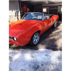 1:00 PM SATURDAY FEATURE! 1968 PONTIAC GTO CONVERTIBLE