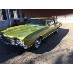 1972 CHEVROLET MONTE CARLO 28900 ORIGINAL MILES