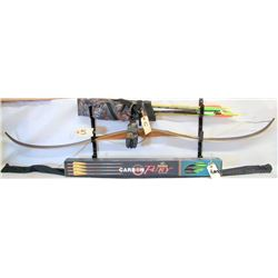 RECURVE BOW AND ARROWS