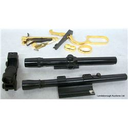 GUN PARTS AND SCOPES