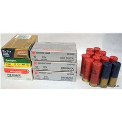 BOX LOT AMMO AND GUN CASE