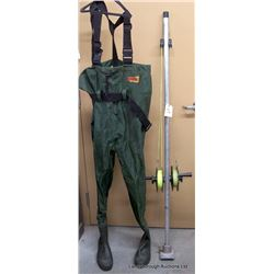 PLANER BOARD MAST & CHEST WADERS