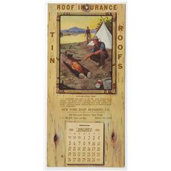New York Roof Repairing Co., 1913 illustrated Catalog with all of the date leaves included on bottom