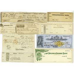 Pennsylvania Checks and Drafts, ca.1790's to 1901