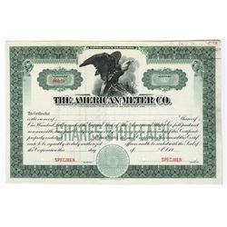 American Meter Co., ca.1940-1950 Specimen Stock Certificate