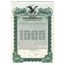 Central Leather Co., 1905 Specimen Bond