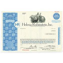 Helena Rubinstein, Inc., ca.1980-1990 Specimen Stock Certificate
