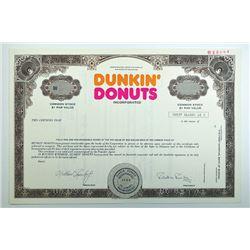Dunkin' Donuts Inc. 1978.