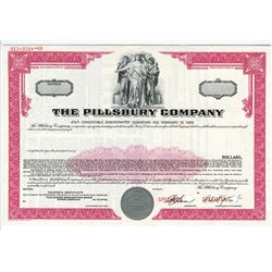 Pillsbury Co., 1969 Specimen Bond