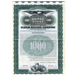United States Flour Milling Co., 1899 Specimen Bond