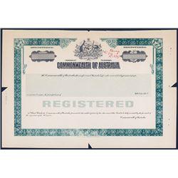 Commonwealth of Australia, ND, ca.1950-60's Proof Bond.