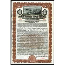 Abitibi Power & Paper Co., 1928 Specimen Bond