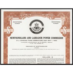 Newfoundland and Labrador Power Commission. Bond